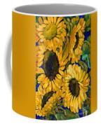 Sunflower Faces Coffee Mug