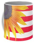 Sunflower Flag Coffee Mug