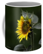 Sunflower Fractalius Beauty Coffee Mug