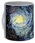 Sunflower Galaxy Coffee Mug