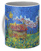Sunflower House Coffee Mug
