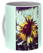 Sunflower In Deep Tones Coffee Mug