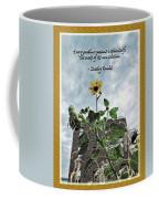 Sunflower Inspiration Coffee Mug