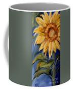 Sunflower Oil Painting Coffee Mug