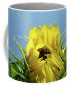 Sunflower Opening Sunny Summer Day 1 Giclee Art Prints Baslee Troutman Coffee Mug