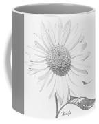 Sunflower  P Coffee Mug
