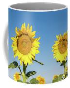 Sunflower Pair Coffee Mug