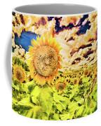 Sunflower Storm Coffee Mug