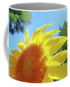 Sunflower Sunlit Art Print Canvas Sun Flowers Baslee Troutman Coffee Mug