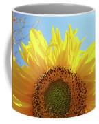 Sunflower Sunlit Sun Flowers Giclee Art Prints Baslee Troutman Coffee Mug
