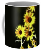 Sunflowers-4955-fractal Coffee Mug