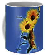Sunflowers-4969-fractal Coffee Mug