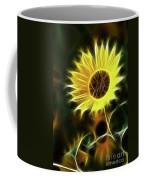 Sunflowers-5200-fractal Coffee Mug