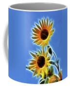 Sunflowers-5246-fractal Coffee Mug
