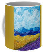 Sunflowers And Lavender In Provence Coffee Mug
