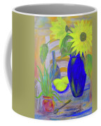 Sunflowers And Lemons Coffee Mug
