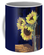 Sunflowers And Light Coffee Mug