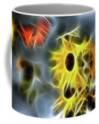 Sunflowers-butterfly-5233-fractal Coffee Mug
