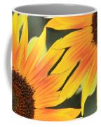Sunflowers Corners Coffee Mug