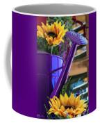 Complementary Sunflowers Coffee Mug