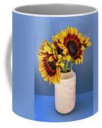 Sunflowers In Circle Vase Tournesols Coffee Mug