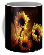 Sunflowers In Shadow Coffee Mug