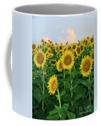Sunflowers In The Sky Coffee Mug