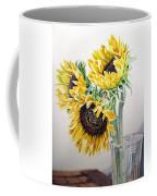Sunflowers Coffee Mug by Irina Sztukowski