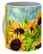 Sunflowers On Holiday Coffee Mug