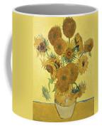 Sunflowers Coffee Mug by Vincent Van Gogh