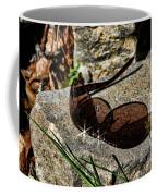 Sunglasses On Stone Coffee Mug