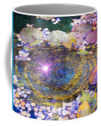 Sunglint On Autumn Lily Pond II Coffee Mug