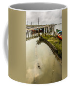 Sunken Fishing Boat Coffee Mug