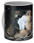 Sunlight And Clouds Reflected In The Birdbath Coffee Mug
