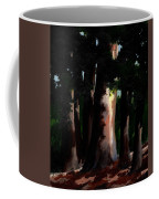 Sunlight And Shadows - Eucalyptus Majesties Coffee Mug