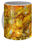 Sunlight Dancing In The Aspen Forest Coffee Mug