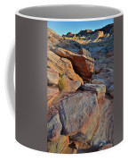 Sunlight Fades Out On Valley Of Fire Coffee Mug