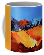 Sunlight In The Valley Coffee Mug