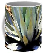 Sunlight On Blue Agave - Digital Art Coffee Mug