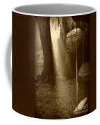 Sunlight On Swing - Sepia Coffee Mug