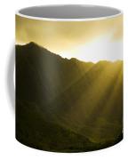 Sunlight Over Kualoa Ranch Coffee Mug