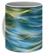 Sunlight Over The River Coffee Mug by Donna Blackhall
