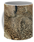 Sunlight Reflection On Underwater Stones And Rocks, Reshi River, Sikkim , India Coffee Mug