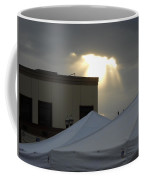 Sunlight Shooting Through Clouds Coffee Mug