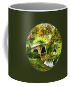 Sunlit Bridge In Park Coffee Mug