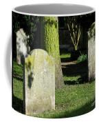 Sunlit Churchyard Coffee Mug