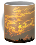 Sunlit Clouds Sunset Art Prints Gifts Orange Yellow Sunsets Baslee Troutman Coffee Mug