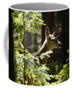 Sunlit Deer Friend Coffee Mug