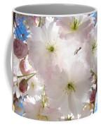 Sunlit Pink Blossoms Art Print Spring Tree Blossom Baslee Coffee Mug