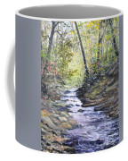 Sunlit Stream Coffee Mug